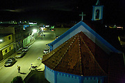 Jeceaba_MG, Brasil...Igreja Matriz Nossa Senhora da Conceicao com a cidade de Jeceaba ao fundo, Minas Gerais...The mother church Nossa Senhora da Conceicao with Jeceaba city in the background, Minas Gerais.. ..Foto: JOAO MARCOS ROSA / NITRO