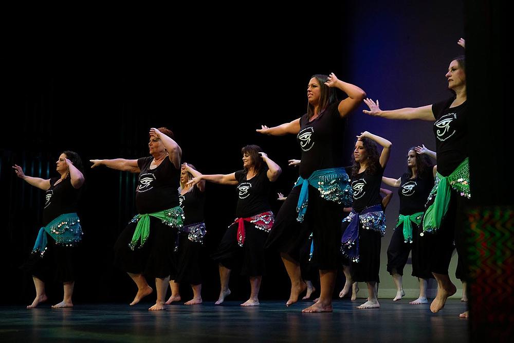 Raqs Salaam Dance Theater's 15th Annual Showcase in Lebanon, N.H., on Nov. 23, 2019. (Photo by Geoff Hansen)
