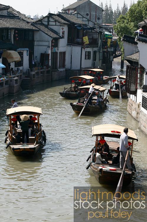 Jaingnan Ancient River Town, Shanghai - China