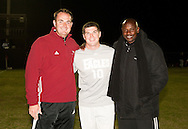 November 2, 2010: The Oklahoma Christian University Eagles soccer teams honor their seniors between the last home soccer games of the season on the campus of Oklahoma Christian University.