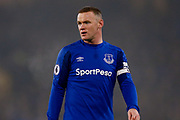 Everton striker Wayne Rooney (10)  during the Premier League match between Everton and Swansea City at Goodison Park, Liverpool, England on 18 December 2017. Photo by Simon Davies.