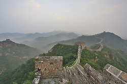 June 26, 2017 - China - Hebei, CHINA-August 4 2016: (EDITORIAL USE ONLY. CHINA OUT)..Morning scenery of Jinshanling Great Wall in north China's Hebei Province. (Credit Image: © SIPA Asia via ZUMA Wire)