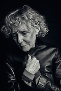 Claire Denis photographed in a London Hotel. Claire Denis is a French film director and writer. Denis is widely regarded as one of the strongest voices in contemporary world cinema. Her film Beau Travail (1999) is considered a modern masterpiece and one of the greatest female-directed films in the history of cinema. Other acclaimed works include The Intruder (2004), 35 Shots of Rum (2008), and White Material (2009).[2][3][4][5] Her work has had a lasting impact on European cinematic identity[6] and has dealt with themes of colonial and post-colonial West Africa, as well as issues in modern France.