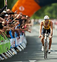 03.07.2011, Ironman Austria, Klagenfurt, Kaernten, im Bild Marino Vanhoenacker, BEL, EXPA Pictures © 2011, PhotoCredit: EXPA/ M. Kuhnke