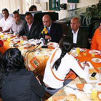 Toluca, México.- Jorge Zendejas Leyva, consejero nacional y estatal de Movimiento Ciudadano, señalo que los militantes de este partido apoyan a Dante Delgado Ranauro, de convertirse oficialmente en líder nacional de este partido. Agencia MVT / José Hernández