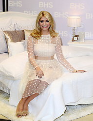 Holly Willoughby launches her own  line of bedding in  London, Thursday, 21st November 2013. Picture by Nils Jorgensen / i-Images