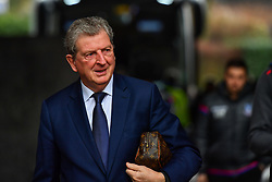 Crystal Palace manager Roy Hodgson arrives at the Liberty Stadium - Mandatory by-line: Craig Thomas/JMP - 23/12/2017 - FOOTBALL - Liberty Stadium - Swansea, England - Swansea City v Crystal Palace - Premier League