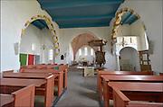 Nederland, Leermens, 15-4-2015Op de wierde staat een oude protestantse kerk.FOTO: FLIP FRANSSEN/ HOLLANDSE HOOGTE