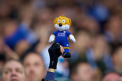 LEICESTER, ENGLAND - Saturday, November 10, 2018: A Leicester City fox mascot stuffed toy during the FA Premier League match between Leicester City FC and Burnley FC at the King Power Stadium. (Pic by David Rawcliffe/Propaganda)