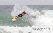 Gold Coast, Australia - February 27: Joel Parkinson open face carve after getting slotted behind the rock during round 1 of the Quiksilver Pro Gold Coast 2010 presented by Land Rover at Snapper Rocks on the Gold Coast, February 27, 2010 Photo by Matt Roberts/MATTRimages.com.au