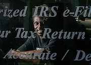 Rapper Joe Blakk has a tax office and hires other rappers and musicians to do taxes during tax season in New Orleans.