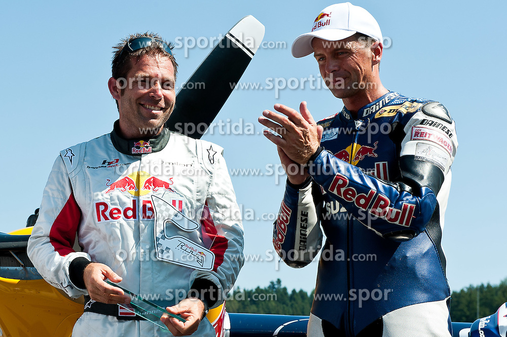 21.08.2011, Red Bull Ring, Spielberg, AUT, IDM Spielberg, im Bild Hannes Arch, (AUT, Edge 540) und Andreas Meklau, (AUT) beim Battle of Champions // during the IDM weekend on the Red Bull Circuit in Spielberg, 2011/08/21, EXPA Pictures © 2011, PhotoCredit: EXPA/ S. Zangrando