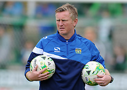 Yeovil Town's Assistant Terry Skiverton - Photo mandatory by-line: Harry Trump/JMP - Mobile: 07966 386802 - 25/04/15 - SPORT - FOOTBALL - Sky Bet League One - Yeovil Town v Port Vale - Huish Park, Yeovil, England.