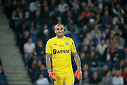 Stephane RUFFIER (AS Saint-Etienne) during the French Championship Ligue 1 football match between Paris Saint-Germain and AS Saint-Etienne on September 14, 2018 at Parc des Princes stadium in Paris, France - Photo Stephane Allaman / ProSportsImages / DPPI