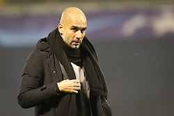 Josep Guardiola, head coach of FC Bayern Munchen during football match between GNK Dinamo Zagreb and Bayern München in Group F of Group Stage of UEFA Champions League 2015/16, on December 9, 2015 in Stadium Maksimir, Zagreb, Croatia. Photo by Ziga Zupan / Sportida
