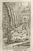 "Life & Death. Deuteronomy 32.29 ""O that men were wise, and that they understood this, that they consider their latter end"" Spiritual Hieroglyphs  Francis Quarles ""Emblemes""  c. 1635"