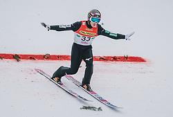 16.02.2020, Kulm, Bad Mitterndorf, AUT, FIS Ski Flug Weltcup, Kulm, Herren, im Bild Junshiro Kobayashi (JPN) // Junshiro Kobayashi of Japan during his Jump for the men's FIS Ski Flying World Cup at the Kulm in Bad Mitterndorf, Austria on 2020/02/16. EXPA Pictures © 2020, PhotoCredit: EXPA/ Dominik Angerer