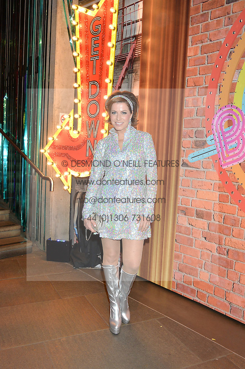 NATASHA KAPLINSKY at a Night of Disco in aid of Save The Children held at The Roundhouse, Chalk Farm Road, London on 5th March 2015.