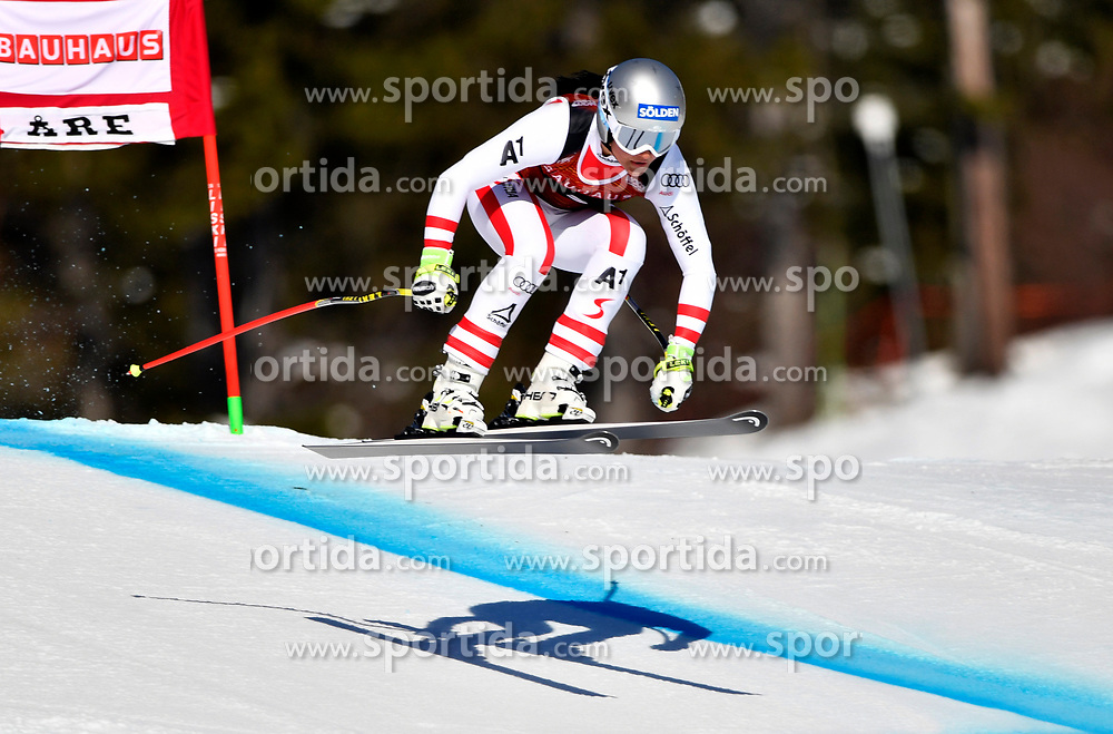 09.03.2017, Are, SWE, FIS Ski Alpin Junioren WM, Are 2017, Damen, Super G, im Bild Franziska Gritsch, second // during Ladies Super G of the FIS Junior World Ski Championships 2017. Are, Sweden on 2017/03/09. EXPA Pictures &copy; 2017, PhotoCredit: EXPA/ Nisse<br /> <br /> *****ATTENTION - OUT of SWE*****