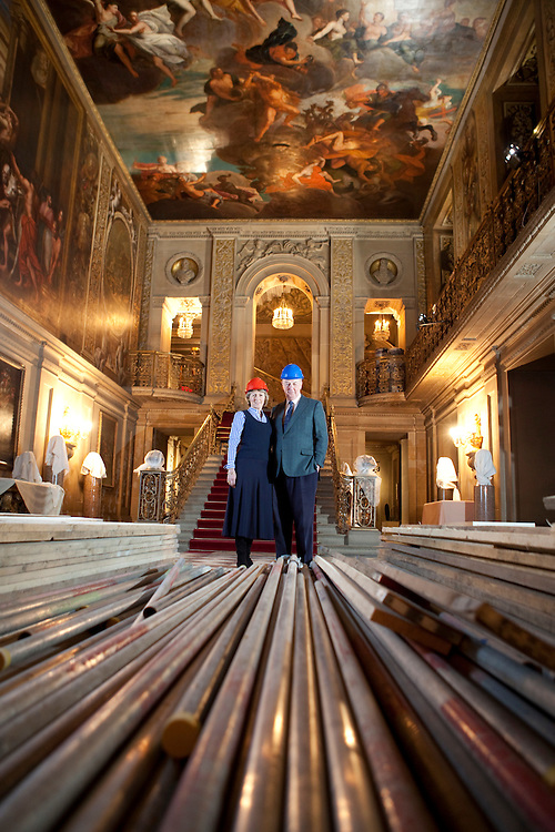 Duke and Duchess of Devonshire at Chatsworth House - Sunday Times Magazine