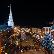 Portsmouth Illuminated Holiday Parand and Tree Lighting Ceremony, Portsmouth, December 7, 2013