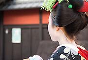 Maiko, Gion, Kyoto, Japan.