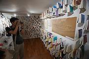 Giardini. Korean Pavillion. Exhibition about Paju Book City.