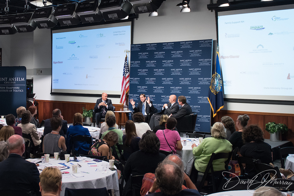 Taken at the Gubernatorial Forum on Young Children, Saint Anselm College Institue of Politics, August 30, 2016. Sponsored by SparkNH