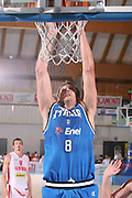 DESCRIZIONE : Bormio Torneo Internazionale Gianatti Italia Austria <br /> GIOCATORE : Denis Marconato<br /> SQUADRA : Nazionale Italia Uomini <br /> EVENTO : Bormio Torneo Internazionale Gianatti <br /> GARA : Italia Austria <br /> DATA : 31/07/2007 <br /> CATEGORIA : Schiacciata<br /> SPORT : Pallacanestro <br /> AUTORE : Agenzia Ciamillo-Castoria/G.Ciamillo<br /> Galleria : Fip Nazionali 2007 <br /> Fotonotizia : Bormio Torneo Internazionale Gianatti Italia Austria<br /> Predefinita :