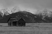 Abandoned Homestead House, Mission Valley, Montana