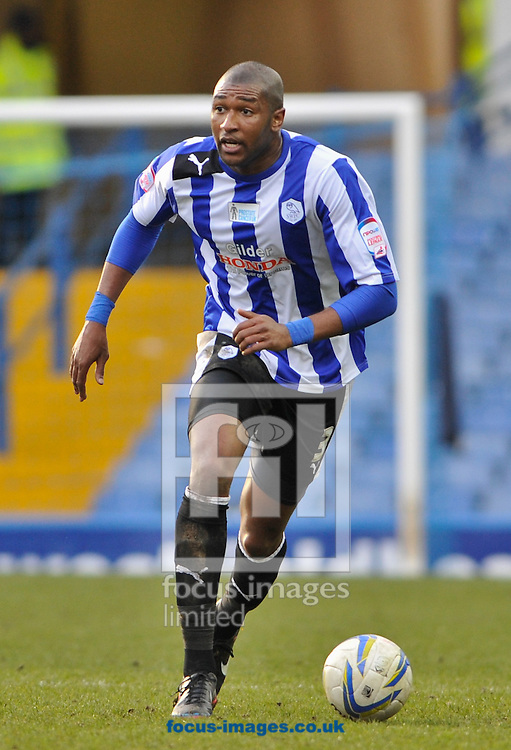 Picture by Richard Land/Focus Images Ltd +44 7713 507003.16/03/2013.Reda Johnson of Sheffield Wednesday in action during the npower Championship match at Hillsborough, Sheffield.