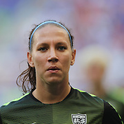 Lauren Holiday, U.S. Women's National Team, during warm up before the U.S. Women's National Team Vs Korean Republic, International Soccer Friendly in preparation for the FIFA Women's World Cup Canada 2015. Red Bull Arena, Harrison, New Jersey. USA. 30th May 2015. Photo Tim Clayton