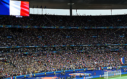 France fans sing the national anthem  - Mandatory by-line: Joe Meredith/JMP - 10/06/2016 - FOOTBALL - Stade de France - Paris, France - France v Romania - UEFA European Championship Group A
