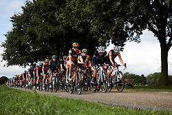Jip van den Bos (NED), Trixi Worrack (GER) and Lizzie Deignan (GBR) lead the bunch at Boels Ladies Tour 2019 - Stage 2, a 113.7 km road race starting and finishing in Gennep, Netherlands on September 5, 2019. Photo by Sean Robinson/velofocus.com