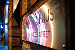 © Licensed to London News Pictures . 13/12/2019 . Manchester , UK . GV of Montana House on Princess Street in Manchester City Centre , where Sinaga was living and committed many of his offences . Reynhard Sinaga has been convicted of over a hundred serious sexual assaults , including the rape of dozens of young men whom he lured to his flat from outside nightclubs in Manchester City Centre , making him one of the most prolific sex offenders ever to have been tried and convicted . Photo credit : Joel Goodman/LNP