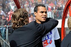 16-05-2010 VOETBAL: FC UTRECHT - RODA JC: UTRECHT<br /> FC Utrecht verslaat Roda in de finale van de Play-offs met 4-1 en gaat Europa in / Michel Vorm<br /> ©2010-WWW.FOTOHOOGENDOORN.NL