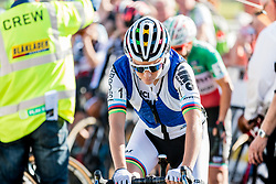 Sanne CANT (BEL) before the start of the Women Elite race at the 2018 Telenet Superprestige Cyclo-cross #1 Gieten, UCI Class 1, Gieten, Drenthe, The Netherlands, 14 October 2018. Photo by Pim Nijland / PelotonPhotos.com | All photos usage must carry mandatory copyright credit (Peloton Photos | Pim Nijland)