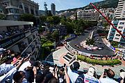 May 24-27, 2017: Monaco Grand Prix. Jenson Button (GBR) McLaren Honda,  MCL32, start of the monaco grand prix