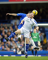 12/5/2004 - Chelsea v  Everton , Stamford Bridge - FA Barclays Premiership.<br />