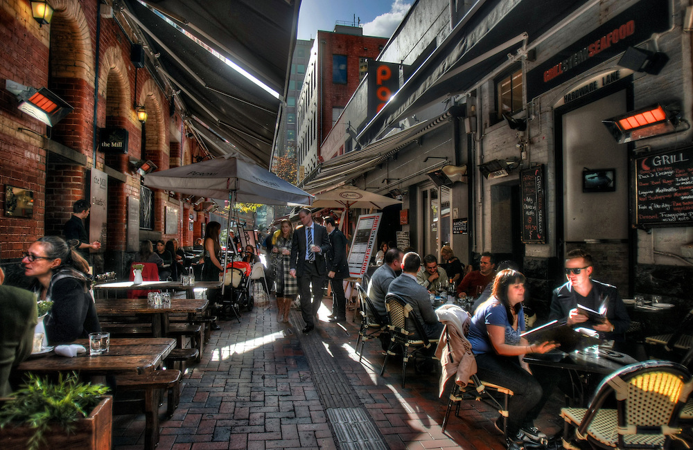 Melbourne's laneways. Pic By Craig Sillitoe CSZ / The Sunday Age.15/06/2012  Pic By Craig Sillitoe CSZ / The Sunday Age melbourne photographers, commercial photographers, industrial photographers, corporate photographer, architectural photographers, This photograph can be used for non commercial uses with attribution. Credit: Craig Sillitoe Photography / http://www.csillitoe.com<br />