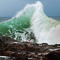 Kelly Slater Snapper Rocks. Published in Australian Surfing Life Magazine.