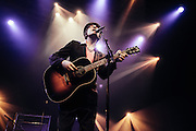 Pete Doherty performing live at the Rockhal concert venue in Luxembourg, Europe on April 9, 2012