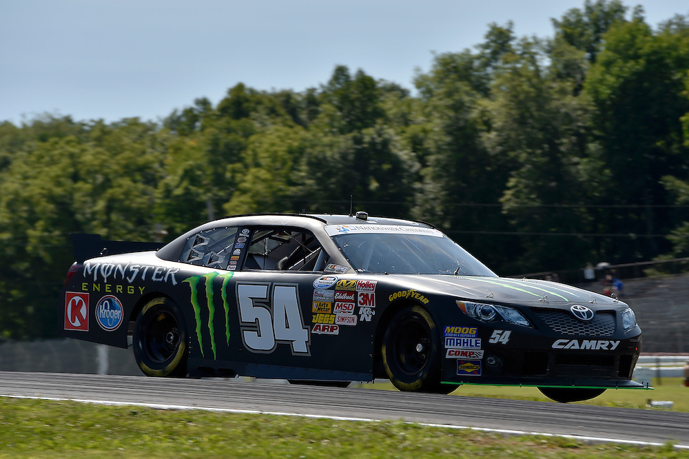 15-16 August, 2014, Lexington, Ohio USA<br /> Sam Hornish Jr, Monster Energy Toyota Camry<br /> &copy;2014, Scott R LePage <br /> LAT Photo USA