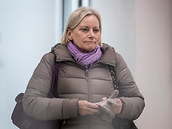 **File picture of CHRISTINE SHAWCROFT  who has resigned from The head of the Labour Party's disputes panel after it emerged she opposed the suspension of a council candidate accused of Holocaust denial**<br /> &copy; Licensed to London News Pictures. 23/01/2018. London, UK. Christine Shawcroft leaves Labour Party headquarters after attending a National Executive Committee meeting.  Photo credit: Peter Macdiarmid/LNP