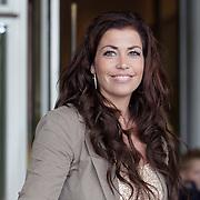 NLD/Amsterdam/20120604 - Vertrek Nederlands Elftal voor EK 2012, Gertrude Kuijt - van Vuren