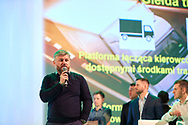 Lodz, Poland - 2018 January 11: Lafarge Polska conference by Endorfina Agency at DoubleTree by Hilton Hotel Lodz on January 11, 2018 in Lodz, Poland.<br /> <br /> Mandatory credit:<br /> Photo by © Adam Nurkiewicz<br /> <br /> Adam Nurkiewicz declares that he has no rights to the image of people at the photographs of his authorship.<br /> <br /> Picture also available in RAW (NEF) or TIFF format on special request.<br /> <br /> Any editorial, commercial or promotional use requires written permission from the author of image.