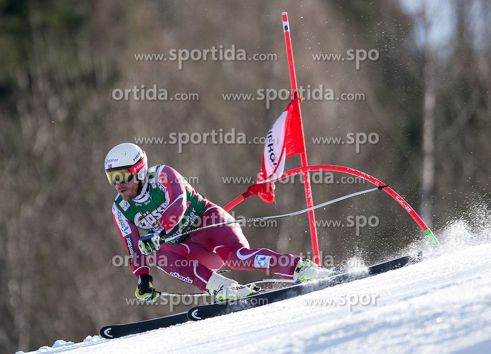 27.02.2016, Hannes Trinkl Rennstrecke, Hinterstoder, AUT, FIS Weltcup Ski Alpin, Hinterstoder, Super G, Herren, im Bild Kjetil Jansrud (NOR) // Kjetil Jansrud of Norway competes during his run of men's Super G of Hinterstoder FIS Ski Alpine World Cup at the Hannes Trinkl Rennstrecke in Hinterstoder, Austria on 2016/02/27. EXPA Pictures © 2016, PhotoCredit: EXPA/ Johann Groder