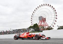 October 6, 2017 - Suzuka, Japan - Sebastian Vettel, ScuderiaFerrari, formula 1 GP, Japan in Suzuka, 06.10.2017.Photo:mspb/Jerry Andre (Credit Image: © face to face via ZUMA Press)
