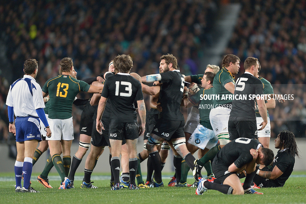 07092014. Daniel Carter in action during The Rugby Championship match between South Africa and the All Blacks, Auckland, New Zealand, 14 September 2013 <br /> &copy; Anton Geyser / SASPA