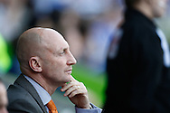 Picture by Andrew Tobin/Focus Images Ltd. 07710 761829. 24/03/12 Ian Holloway looks on during the Npower Championship match at Madejski stadium, Reading.
